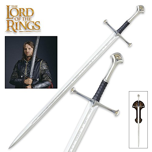 The Lord of the Rings: Anduril, sword of King Elessar (Hobbit Weapon Replicas)