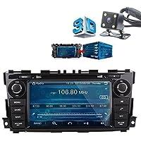 Indash Car Stereo Radio Head Unit GPS Navigation DVD Player for Nissan Teana Altima 2013 2014 2015 w/ Bluetooth/SD/USB/FM/AM Radio/Steering Wheel Control/AV-IN/Free Map