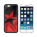 Apple iPhone 6 6S Aluminum Case Flag of EZLN vertically divided Close Up IMAGE 32580629 by MSD Customized Premium Deluxe Pu Leather generation Accessories HD Wifi Luxury Protector