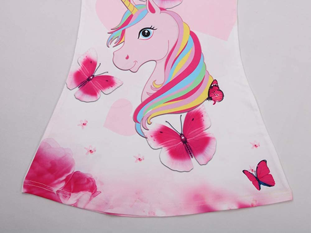 Dbzz Sunny Fashion Girl Unicorn Dress Party Dress