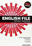English File Elementary : Elementary teacher's book (1CD audio)