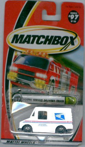 (Matchbox 2000-97 Postal Service Delivery Truck On The Road Again 1:64 Scale)