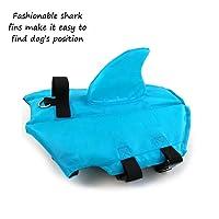CheeseandU Shark, Pet Swimming Vest Jacket