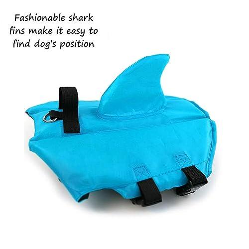 CheeseandU Dog Life Jacket Shark, Pet Swimming Vest Jacket Review