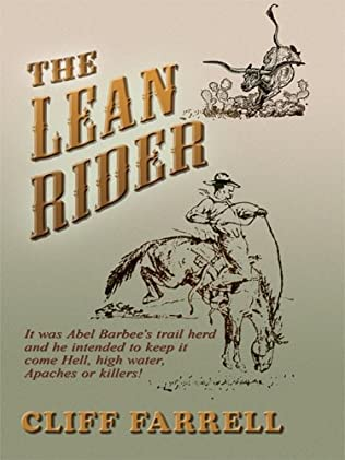 book cover of The Lean Rider