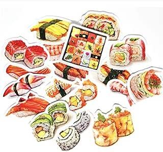YLGG Estilo Japonés Comida Deliciosa Delicioso Kawaii Sushi ...