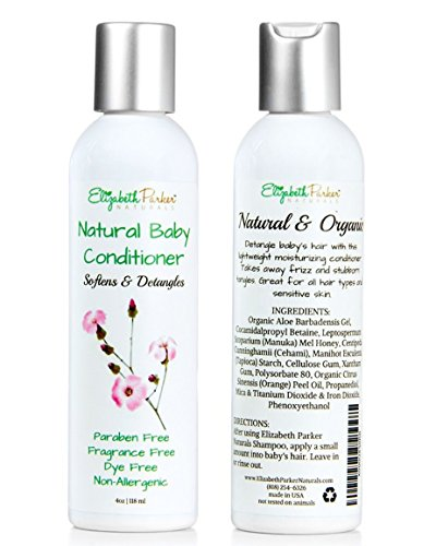 Organic Baby Hair Conditioner Conditions product image