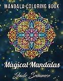 #8: Mandala Coloring Book: 100 Magical Mandalas | An Adult Coloring Book with Fun, Easy, and Relaxing Mandalas
