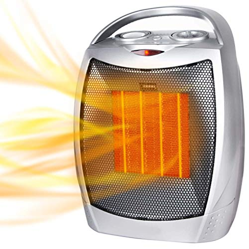 Moonflor 750W/1500W Ceramic Space Heater for Home