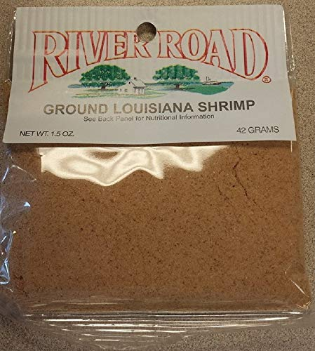 River Road Dried Ground Louisiana Shrimp, 1.5 Ounce Packet