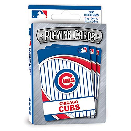 MasterPieces Puzzle 91735 MLB Chicago Cubs Playing Cards