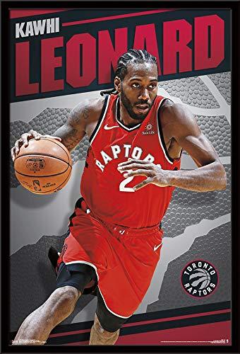 e2553e2529a5a Trends International Toronto Raptors - Kawhi Leonard Wall Poster, 24.25