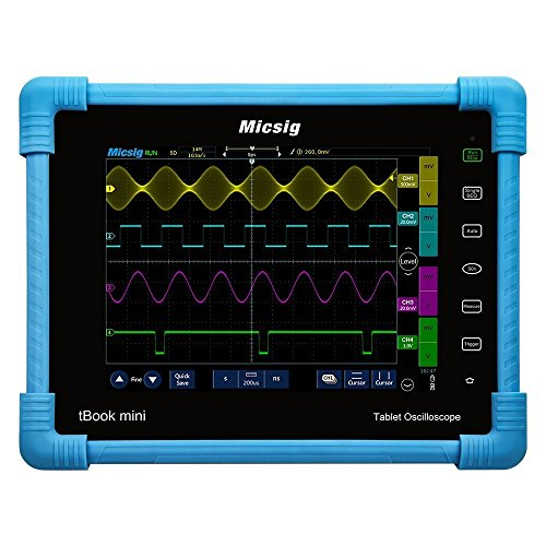Micsig Digital Tablet Storage Oscilloscope 100MHz 4CH TO1104