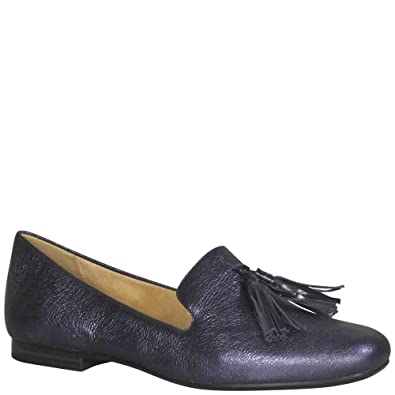 f1735172da5 Naturalizer Women s Elly Navy Sparkle Metallic Leather 6 ...