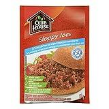 Club House Gluten Free Sloppy Joe Seasoning Mix 25-Percent Less Salt, 37 Gram, Pack of 12