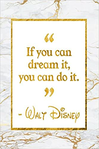 If You Can Dream It, You Can Do It: Golden Marble Walt ...