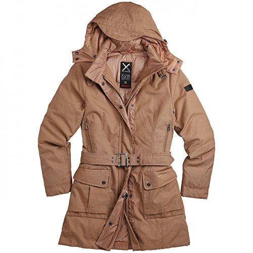 "Surplus Raw Vintage Mantel ""Xylontum Wintercoat Women"", Größe: 36, Farbe: Khaki"