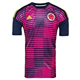 #3: adidas 2018-2019 Colombia Pre-Match Shirt (Pink)