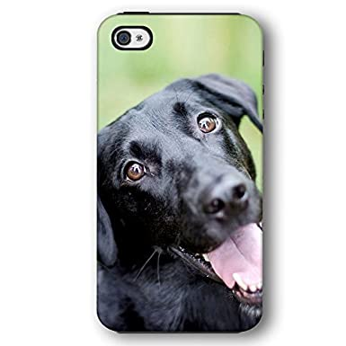 promo code 2c207 496ae Black Lab Dog Puppy iPhone 4 and iPhone 4S Armor Phone Case ...
