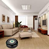 Sweeping Machine, Hatop Home or Office Intelligent Robotic Vacuum Cleaner Automatic Mini Sweeping Machine (Black)
