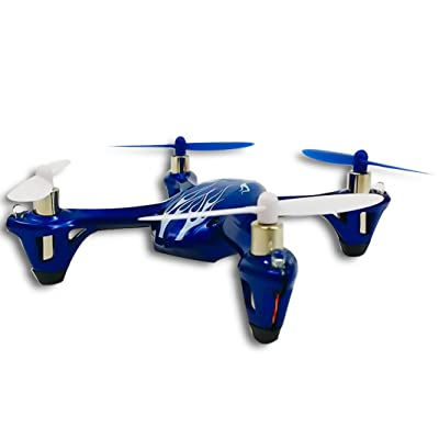 Hubsan X4 H107L Royal Blue H107 LED with Bonus Propeller Rotor Protection Guard