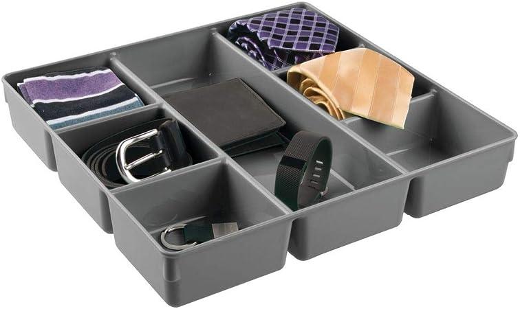 Un Armadio A Scomparti.Mdesign Organizer Per Cassetti In Plastica Pratico Contenitore A