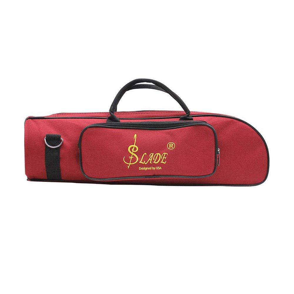 Walmeck Trumpet Bag Water-resistant Trumpet case Oxford Cloth Adjustable Single Shoulder Strap
