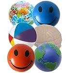 6 x Stress Ball Mixed Squeezers - Ora...