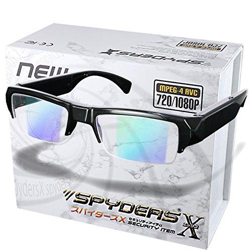 スパイダーズX メガネ型カメラ 小型カメラ スパイカメラ (E-280) B074C3LTK1