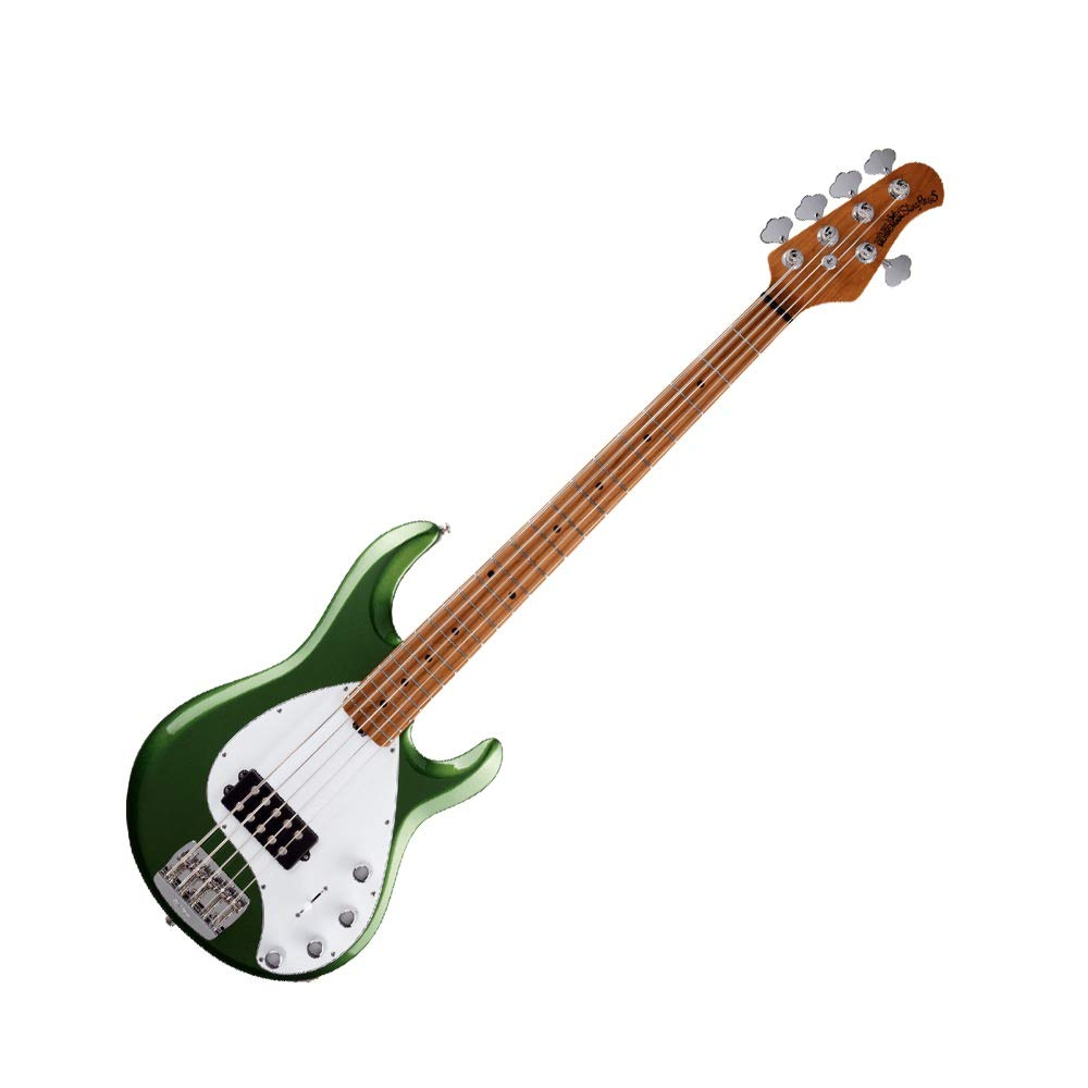 MUSIC MAN StingRay5 Special H Roasted Maple Charging Green 5弦エレキベース   B07GC9XD41