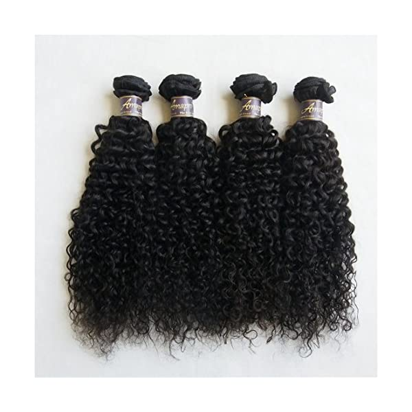 Amaprotm1230 Inch Grade 7a Kinky Curly Weave Hair 100
