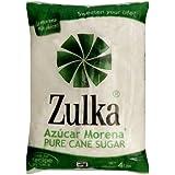Zulka Cane Sugar, 4 Pound Package (Pack of 5)