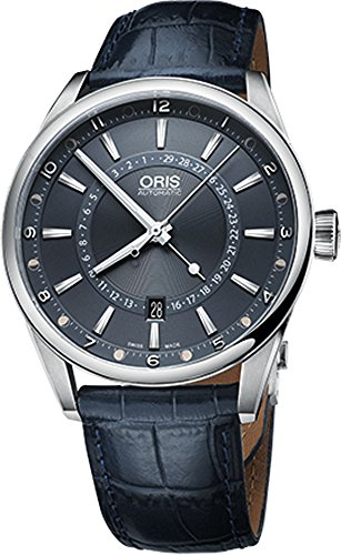 Oris-01-761-7691-4085-Set-LS-Mens-Watch-Tycho-Brahe-Limited-Edition-Blue-Leather-Strap