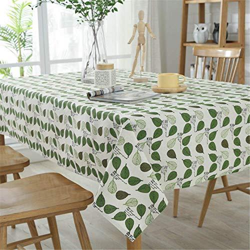 Cotton Linen Tablecloth Waterproof Table Home Decoration Halloween Tablecloths A 140x200cm -