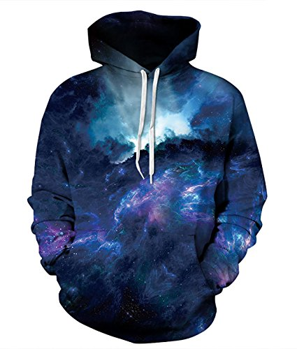 space galaxy sweatshirt - 1
