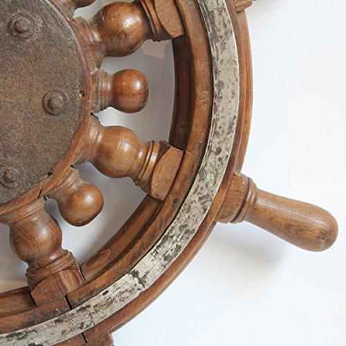 Original Captains Tiller Wheel by Mix Furniture (Image #2)