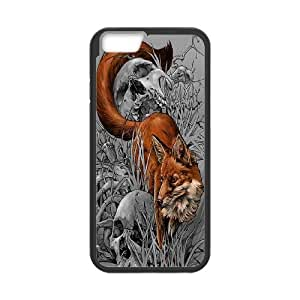 "Unique Design -ZE-MIN PHONE CASE- For Apple Iphone 6,4.7"" screen Cases -Wolf,Wolves and Moon Pattern-CUSTOM-DESIGH 2"