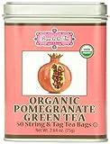 Brew La La Tea Organic, Pomegranate Green, Pack of 2