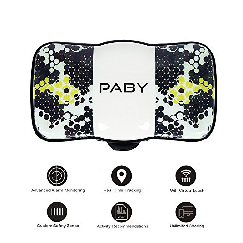 PABY Pet Tracker, 3G GPS Pet Tracker & Activity Monitor Dogs Cats Smart WiFi Virtual Fence Rechargeable Waterproof...