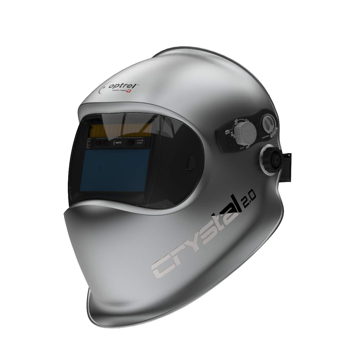 Optrel Crystal 2.0 Auto-Darkening Welding Helmet 1006.900 by Optrel