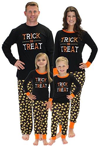 Sleepyheads Halloween Trick Treat Family Matching Pajama Set Kids PJ (SHHM-4022-K-8)