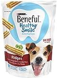 Purina Beneful Healthy Smile Ridges 10 Count Dental Dog Snack, Small/Medium, My Pet Supplies