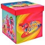 Trolls 15'' Ottoman Provides one cubic foot of storage space