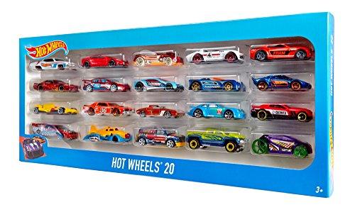 hot wheels 20 car gift pack styles may vary