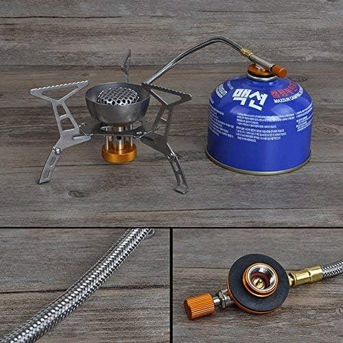 NoBrand - Hornillo de gas portátil para camping, senderismo ...