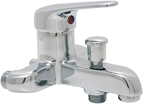 mitigeur bain douche chrome entraxe