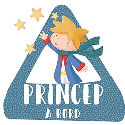 StarStick - Príncipe a bordo - triángulo adhesivo de Bebé a ...