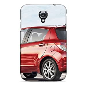 Galaxy S4 Case Cover - Slim Fit Tpu Protector Shock Absorbent Case (toyota Yaris 2012 Exotic Car)