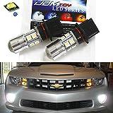 10w led fog light - iJDMTOY (2) Super Bright HID White P13W High Power CREE 10-SMD LED Bulbs For 2010-2013 Chevy Camaro Fog Lights Daytime Lights
