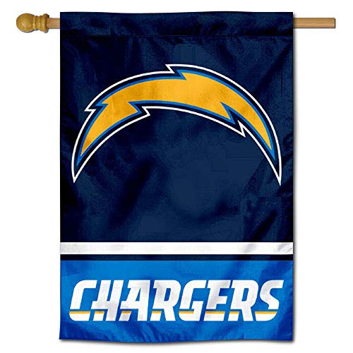 - Los Angeles Chargers Two Sided House Flag